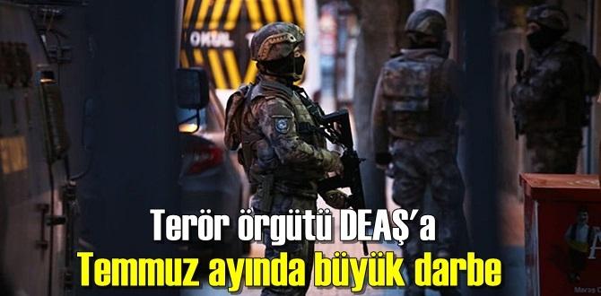 Türkiye, Terör örgütü DEAŞ'a karşı mücadelesi devam ediyor!