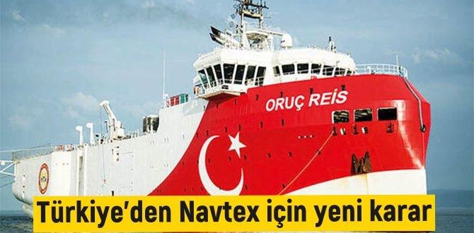 Navtex süresi için yeni hamle geldi! Gemi, 1 Eylül'e kadar çalışmalarını devam edecek!