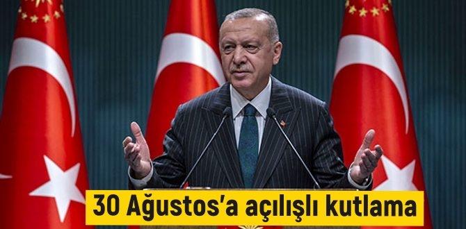 Cumhurbaşkanı Recep Tayyip Erdoğan, 30 Ağustos kutlamalarının ardında açılışlar yapacak..