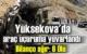 Hakkari'nin Yüksekova ilçesi Sat dağları Gölbaşı yakınlarında Kaza'da 6 Ölü 1 yaralı!