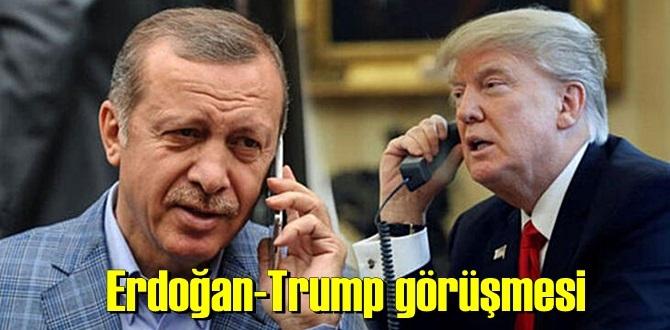 Cumhurbaşkanı Erdoğan, ABD Başkanı Donald Trump ile telefon görüşmesi yaptı!