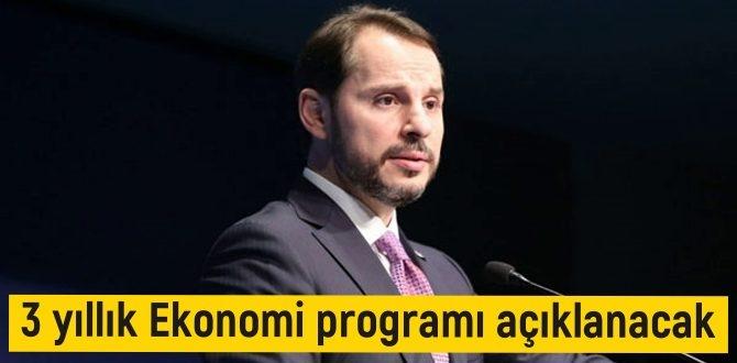 Bakan albayrak ,eylülde yeni 3 yıllık Ekonomi programını açıklayacak!