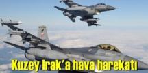 Irak'ın kuzeyindeki hava harekatın'da PKK'lı 4 terörist etkisiz hale getirildi.