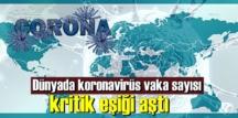 Dünya'da Koronavirüs vakaları endişe verici!