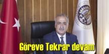 Akademik camiada büyük memnuniyet,Atatürk Üniversitesi Rektörlüğü görevine yeniden atandı.