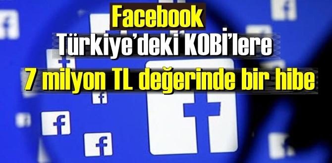 Facebook Türkiye'deki KOBİ'LERİ Unutmadı! destek'ten hemen yararlanın!