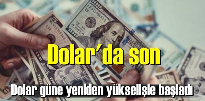 Dolar'da son durum/ 18 ağustos 2020/Dolar güne yeniden yükselişle başladı!