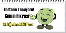 23 Ağustos 2020 Pazar/ Günün Komik Fıkrası – Hastanın Tansiyonu!