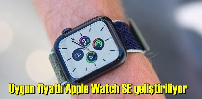Hesaplı ve bütçeyi yormayan Apple Watch SE gündemde!