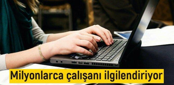 Yayımlanan Cumhurbaşkanlığı Genelgesi ile duyuruldu/ Milyonlarca çalışanı ilgilendiriyor!