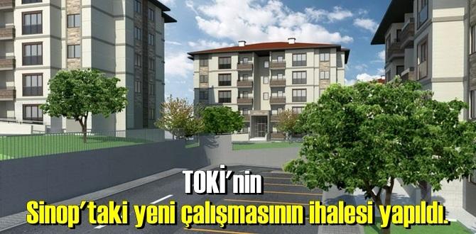 TOKİ'nin Sinop'taki yeni çalışmasının ihalesi yapıldı.