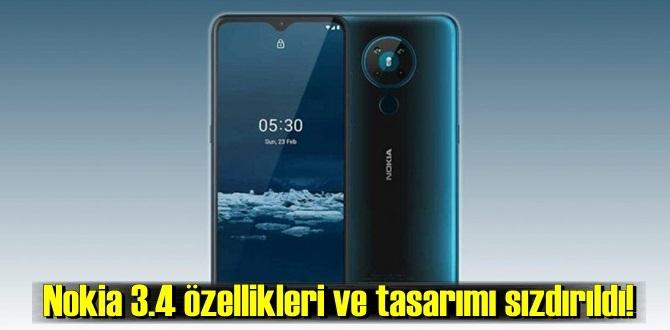 Nokia 3.4 özellikleri ve detayları ile ilgili paylaşımlar yapıldı!