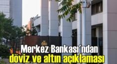 Merkez Bankası, Piyasalara yönelik son durum açıklaması yaptı!