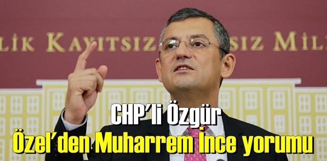 Muharrem İnce'ye gönderme! CHP'liler kişisel kariyerle değil ülke geleceğiyle ilgilenir!
