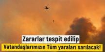 Ömer Çelik: Zararlar tespit edilip Vatandaşlarımızın Tüm yaraları sarılacak!