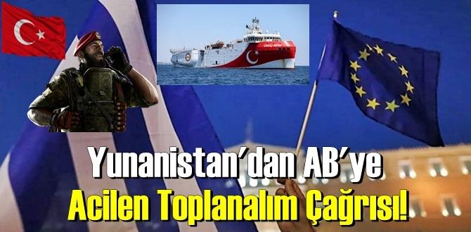Türkiye'nin hamlesi sonucu, Yunanistan'dan AB'ye Acilen Toplanalım Çağrısı!