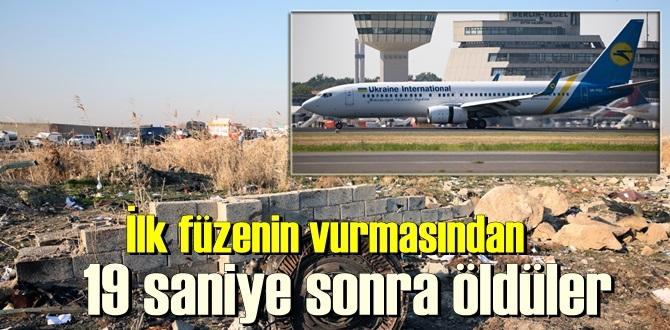 ilk füzenin isabetinden 19 saniye sonra irtibat kesildi, Uçaktaki 176 kişiden kurtulan olmamıştı!