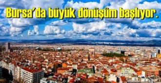 Bursa'da aynı anda farklı yerlerde büyük dönüşüm başlıyor. İşte şehirdeki çalışmalar…