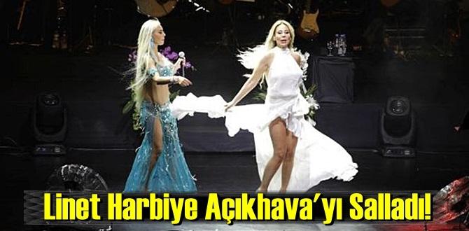 Linet Harbiye Açıkhava'yı Salladı!