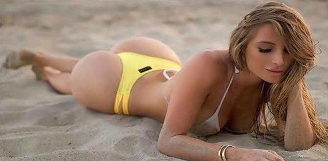 Fitness modelli Amanda Lee'nin yeni Pozları