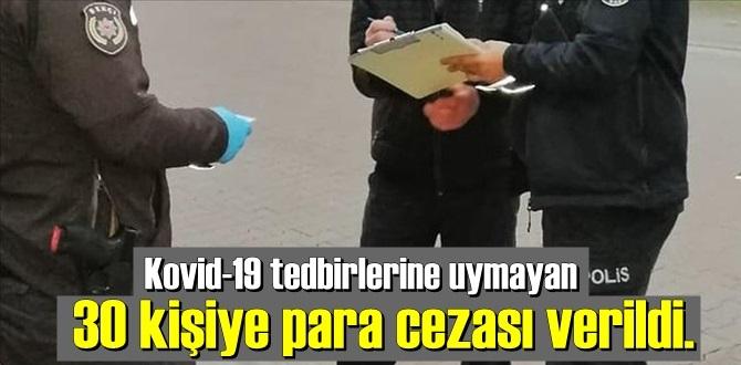 Bursa'da Kovid-19 tedbirlerine uymayan kahvehanede 30 kişiye para cezası kesildi!