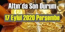 17 Eylül 2020 perşembe/ Ekonomi'de Altın piyasası, Altın güne nasıl başlıyor!