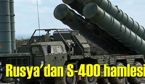 Rusya'dan yeni S-400 hamlesi!