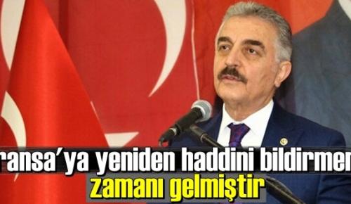 MHP'li Büyükataman: Evelallah namusumuzu çiğnetmedik, çiğnetmeyeceğiz!