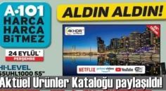 24 eylül 2020 Perşembe/ A101 Aktüel Ürünler Kataloğu paylaşıldı!