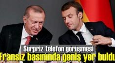 Fransızların, Cumhurbaşkanı Erdoğan ile Macron görüşmesinin bakış açısı!