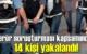 Terör soruşturması kapsamında HDP'li eski Siirt Milletvekili Hatice Kocamannın'da aralarında bulunduğu Tutuklamalar Var!