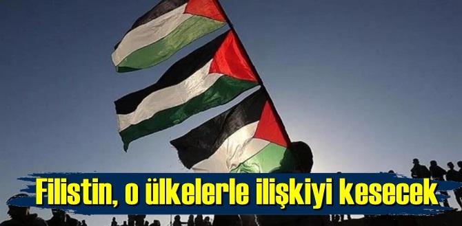 Filistin yönetimi, Resti Çekti!Kosova Uyarıldı!