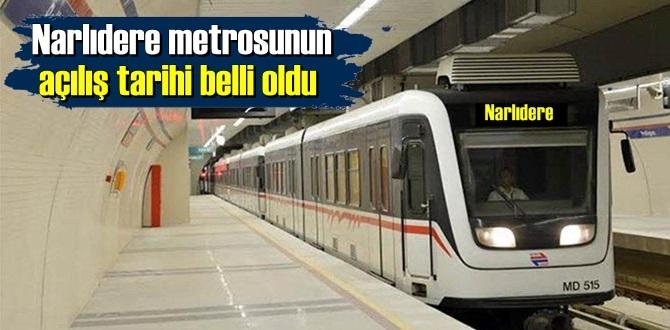 Narlıdere metrosunun açılış tarihi belli oldu!