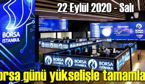 Borsa bugünü/ 22 eylül 2020 salı, yükselişle tamamladı.