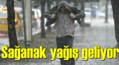 Meteoroloji uyardı, Yaklaşıyor! Tüm Yurdu sağnak yağış etkileyecek!