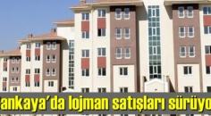 Ankara'nın Çankaya ilçesinde 129 adet lojman, ihaleyle satılacak.