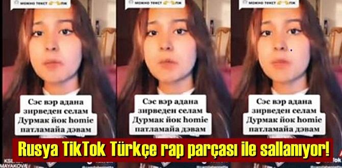 Rusya'da Türkçe rap, Rus TikTok'çuların dilinde! Patlamaya Devam…