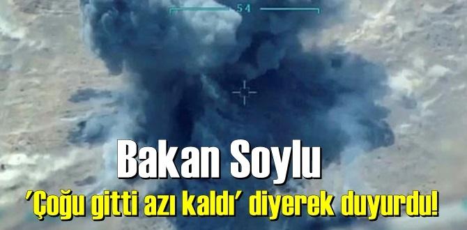 Bakan Soylu : İstihbarat, Operasyon Tam başarı! 6 terörist etkisiz hale getirildi.