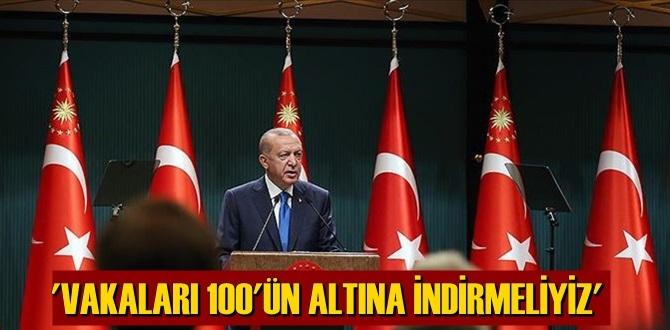 Başkan Erdoğan: Kafe ve restoranlar kurallara uygunluk bakımından denetlenecek!