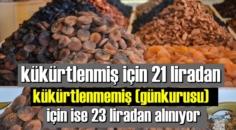 Bakan Bekir Pakdemirli: 2020 yılı 4 numara kuru kayısı fiyatı..