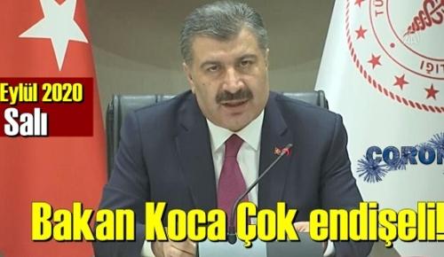 Bugün 29 Eylül 2020 Salı/ Türkiye Koronavirüs veri tablosu haberimizde!