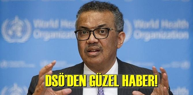 DSÖ Genel Direktörü Tedros Adhanom Ghebreyesus'tan Umut veren güzel haber geldi!