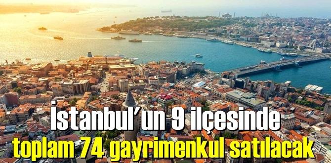 İstanbul'da Milli Emlak tarafından ihale yoluyla gayrimenkul satılacak.