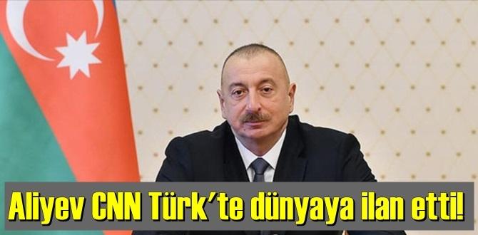 Azerbaycan Cumhurbaşkanı İlham Aliyev Canlı yayında duyurdu!Ermenistan savaşı kaybediyor.