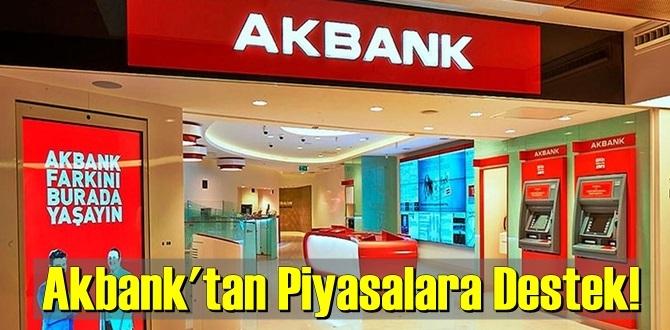 Bugün açıklandı,Akbank'tan Piyasalara büyük Destek! Düşük faizli kredi fırsatı!