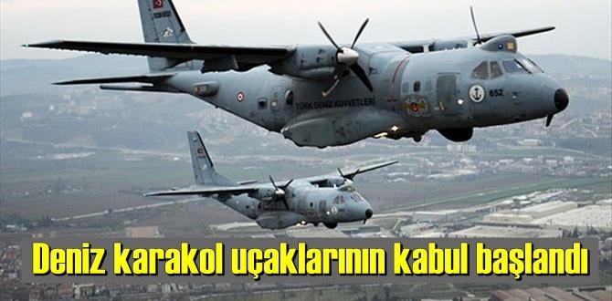 MSB duyurdu, planlanan Deniz karakol uçaklarının kabul başlandı