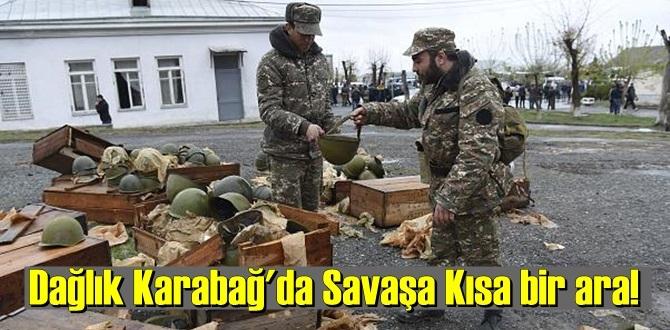 Dağlık Karabağ'da Savaşa Kısa bir ara, esir ve cenaze değişimi!