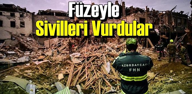 Ermenistan Ordusun'dan Çirkin saldırı,Sivil yerleşimi Vurdular!