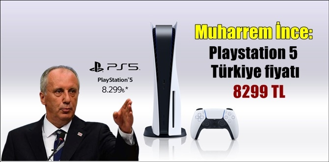 Muharrem İnce'den Playstation 5 Reklamı!