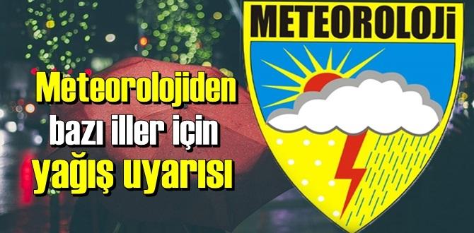 Meteoroloji bu iller için yağış Uyarısında bulundu!İstanbul, Edirne, Kırklareli, Tekirdağ, Yalova, Kocaeli ve Sakarya